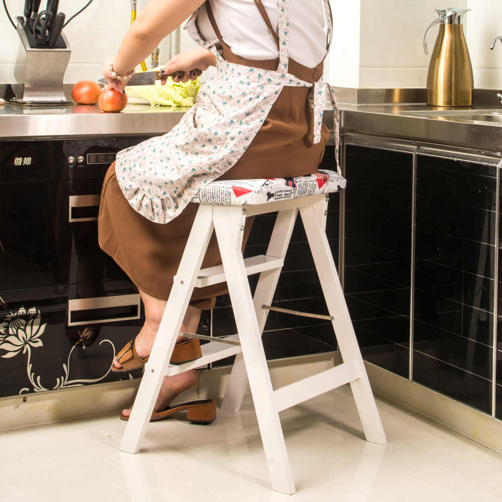 Folding Wooden Bench Kitchen Furniture
