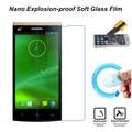 Telefone película protetora membrana à prova de explosão premium temperado protetor de tela de tela de toque para a philips s399 s398