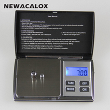 NEWACALOX 300g x 0.01g Precision Digital Scale for Gold Sterling Silver Jewelry Scale 0.01 Pocket Balance Electronic Handy Scale