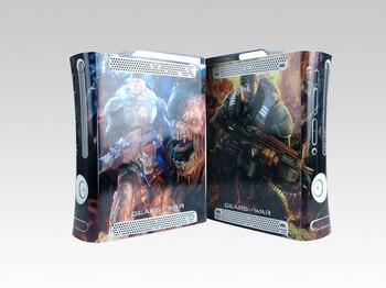 Виниловые наклейки для кожи X64, Защитная пленка для Microsoft Xbox 360, оригинальные наклейки для жирной кожи для xbox360