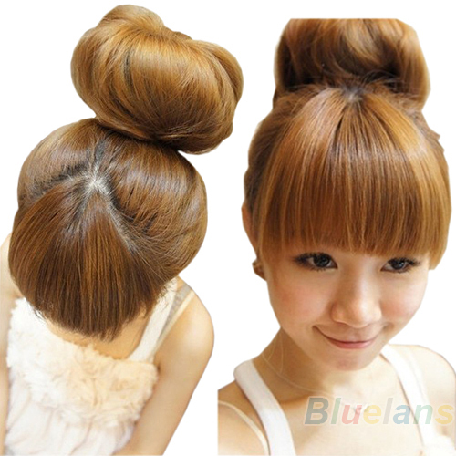 Hair Donut Bun Ring Shaper Roller Styler Maker Brown Black Blonde Hairdressing S M Elastic Round Nylon Wire
