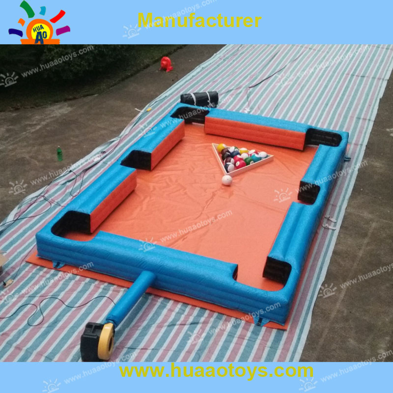 Free Shipping Inflatable Snookerball Football Table Football