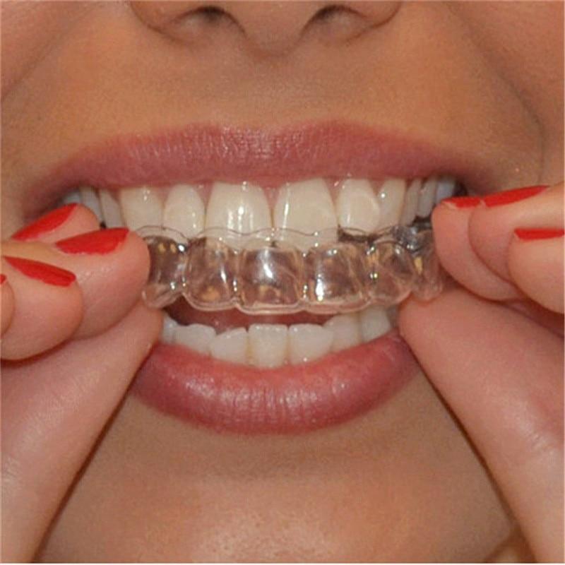 2 шт термоформовочные отлитые зубные отбеливающие лотки для зубов отбеливающие литьевые лотки для ухода за полостью рта гелевые поднос для полости рта Прямая поставка