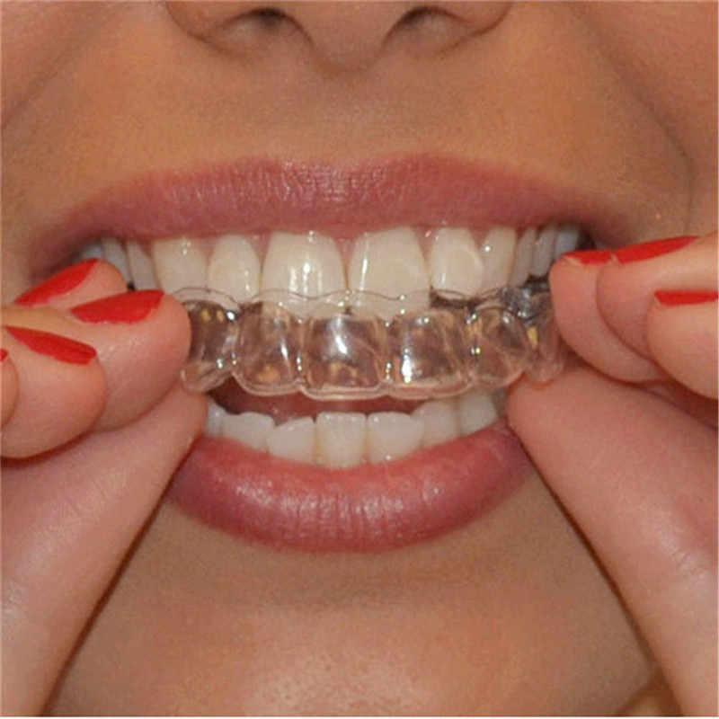 2 Pcs Thermo Mund Schutz Zähne Bleaching Trays Bleaching Oral Hygiene