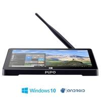 PIPO X8 Mini Pc Dual OS HD Graphics TV BOX Windows 8 1 Android 4 4