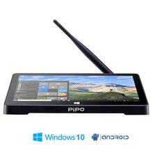 PIPO X8 Pro Dual HD Graphics TV BOX Windows 10  Android 5.1 Intel 8350 Quad Core 2GB/32GB Tv Box 7 Inch Screen Mini Pc