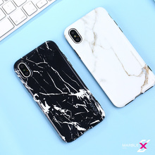 2018 Top Fashion Time-limited Anti-knock X-level Marble Design For Iphone X Business Style