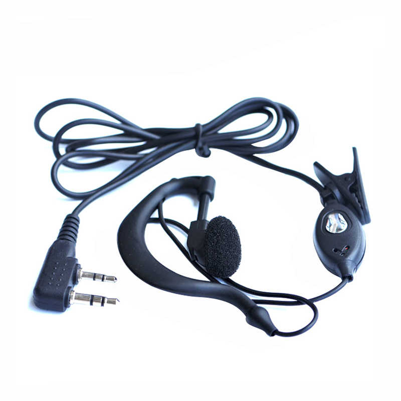 for Baofeng headphones UV-5r Earpiece for Radio Walkie Talkie Headset Mic Microphone for 888S uv5r UV-5RA UV-5RE UV82