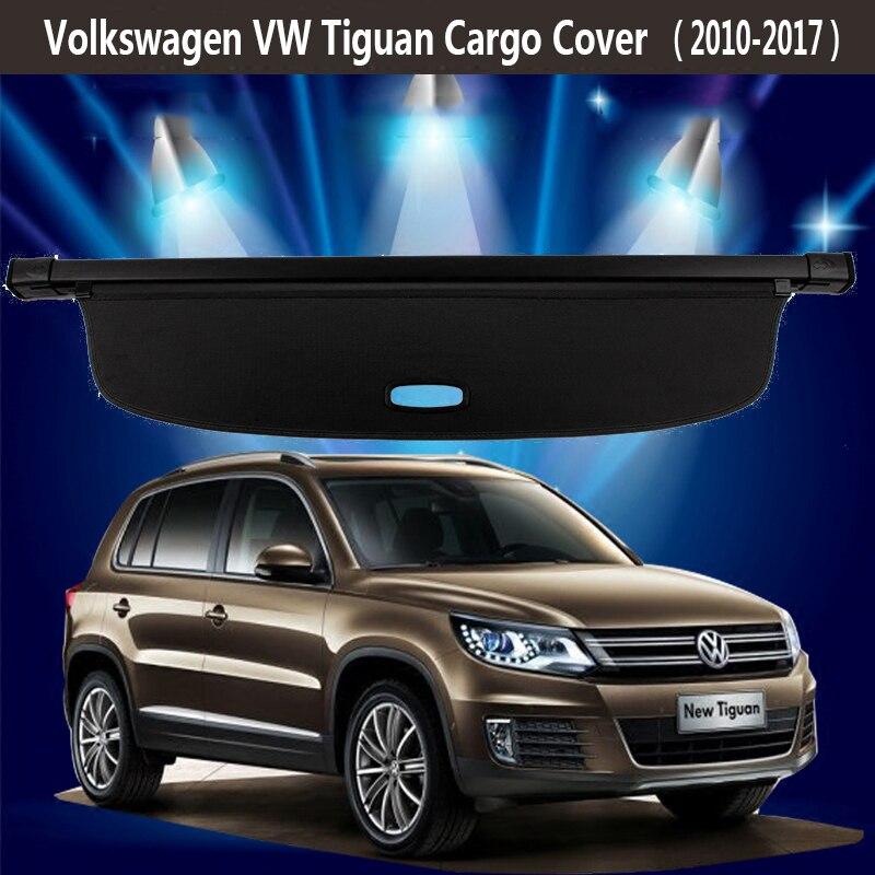 vw volkswagen tiguan   rear cargo cover privacy trunk screen security shield shade