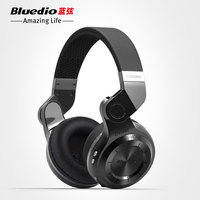 Original Fashion Bluedio T2 Turbo Wireless Bluetooth 4 1 Stereo Headphone Noise Canceling Headset With Mic