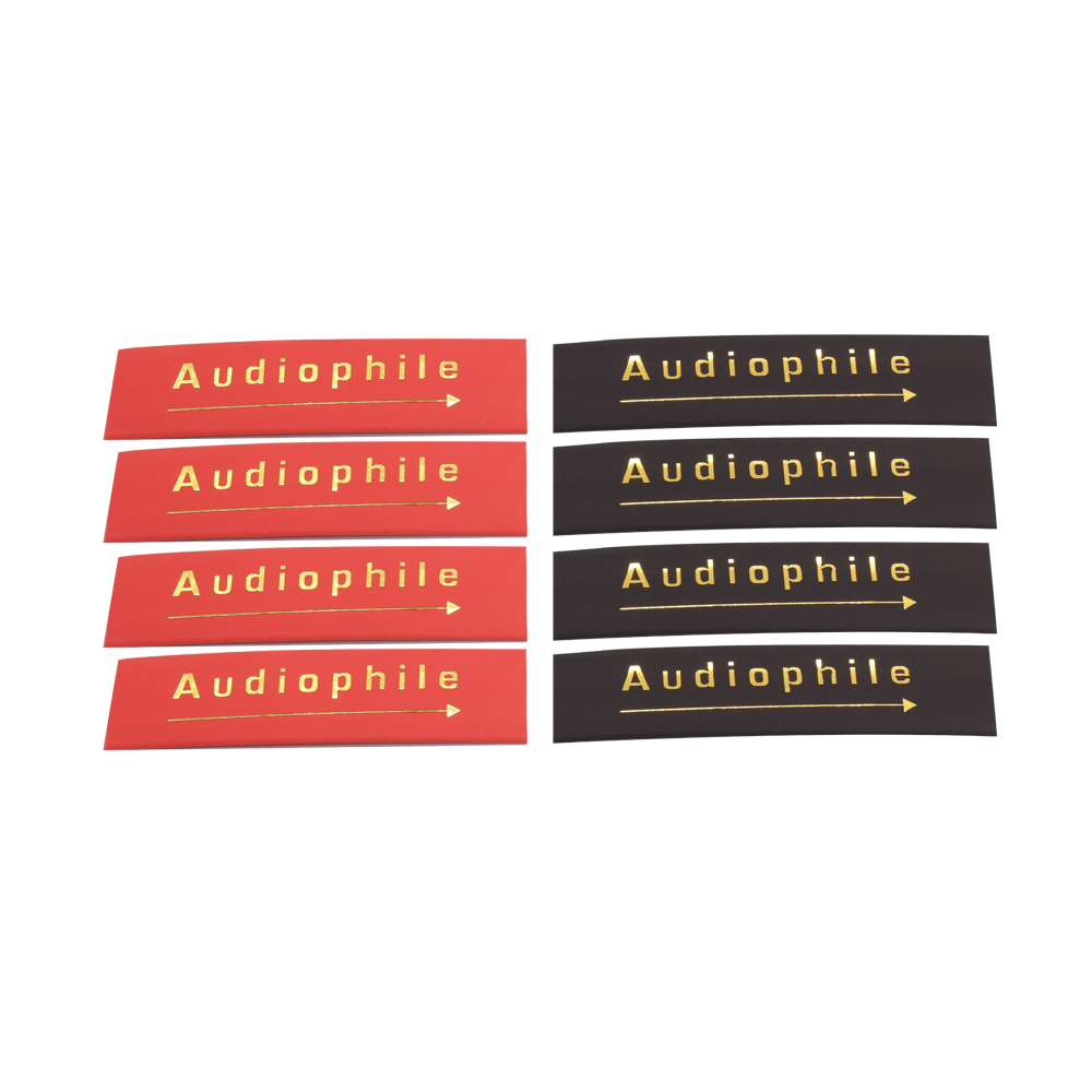 24PCS Audiophile Heat Shrink Tube 14mm Insulated Sleeving Tubing For Speaker Interconnect Audio Cable DIY