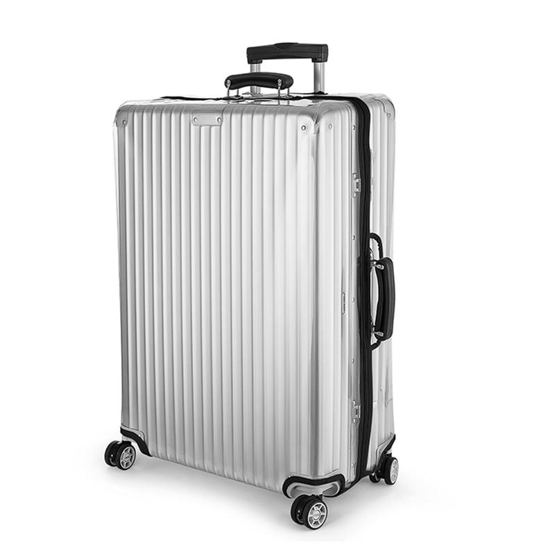 Housse de bagage transparente à glissière pour Rimowa épaissir le couvercle de valise