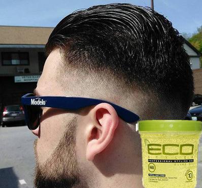 Eco hair styling gel olive oil olive oil hair styling wax gel paste glue high acid olive oil