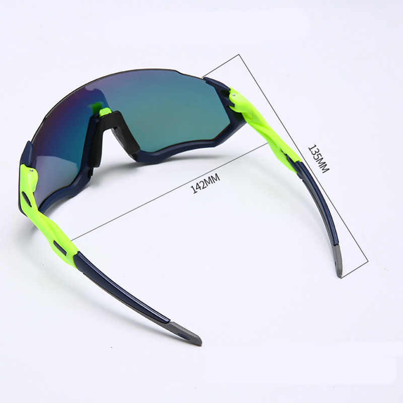 c536afdb554 ... Polarized Flight cycling glasses MTB 3 Lens Men Bike Bicycle Goggles  Sport Eyewear sunglasses ...
