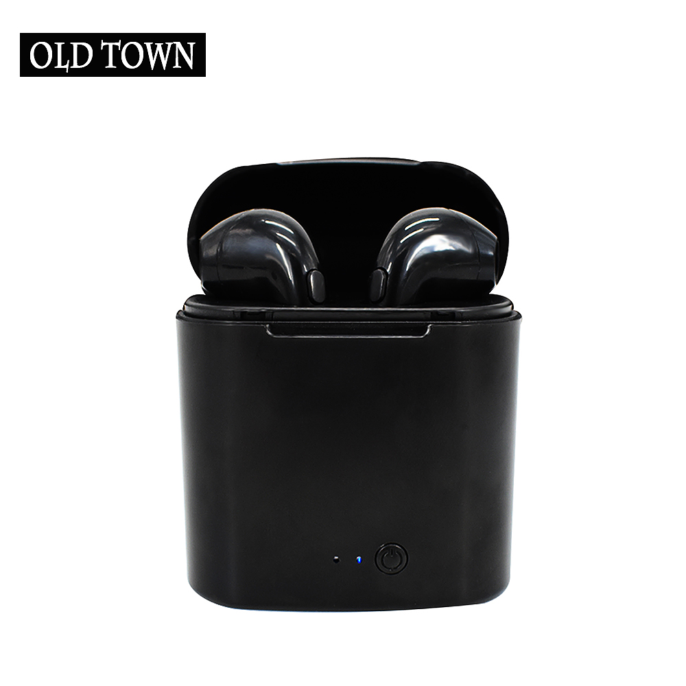 For Apple IPhone Se 6 Xiaomi Huawei TWS Mini Bluetooth Earphone I7 Earbuds Wireless Headset Double Twins Stereo Music Headphone