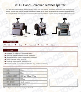Image 5 - Кожезаменитель, ручная машина для очистки кожи, инструмент для очистки кожи, разветвитель для растительного дубления, ширина 10 см, 8116
