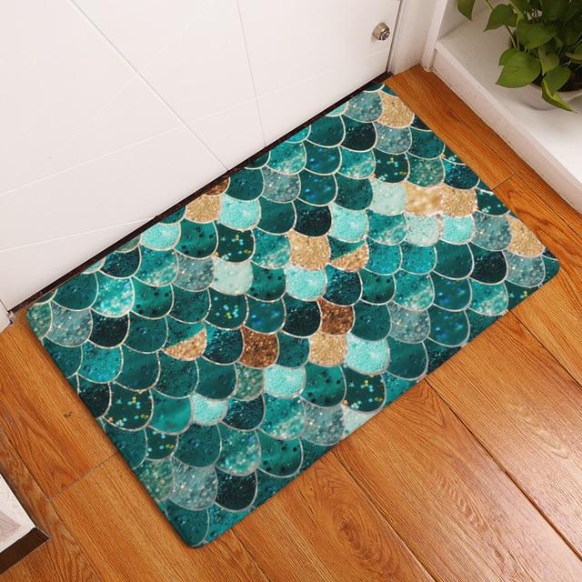 MDCT Glitter Sequins Design Floor Door Mats Area Rugs And Carpet For Living  Room Hallway Doorway