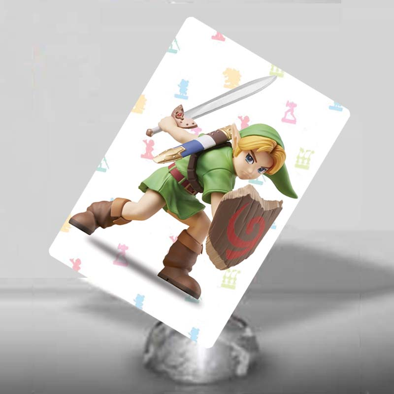 NFC Amiibo Card Young Link for the Legend of Zelda image