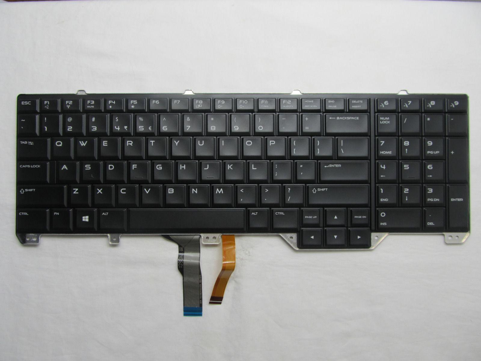 Genuine US Backlit Keyboard for Dell Alienware 17 R2 Alienware 17 R3