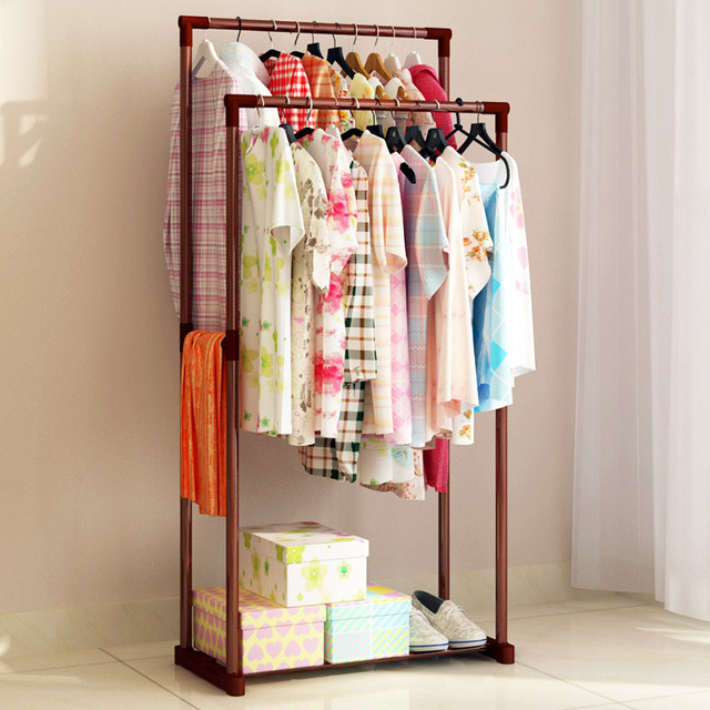 Delicieux Stylish Minimalist Home Bedroom Storage Furniture Stainless Steel Modern  Standup Portable Closet Multipurpose Wardrobe Coat Rack