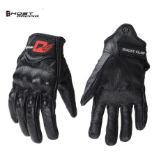 Motorcycle Gloves Genuine Leather Touchscreen Racing Downhill Cycling Riding Guantes Moto