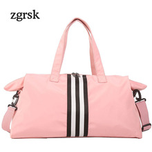 Fashion Travel Duffel Bag Large College Hand Luggage Casual Weekend Travelling Bags Multifunction Ladies Duffle For Women