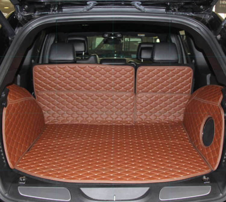 Special Trunk mat car trunk organizer waterproof full covered mat trunk liner car carpet for Jeep Grand Cherokee