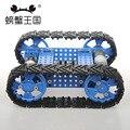 PW M25 DIY Mini Tanque de RC com Controle Remoto Faixa de Borracha Tecnologia Invenção Engraçado Puzzle Educação Toy Tanque