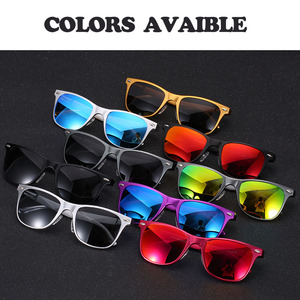 Image 5 - Classic Aluminium Magnesium Polarized Sunglasses men women luxury river design vintage Driving Eyewears sun glasses gafas oculos