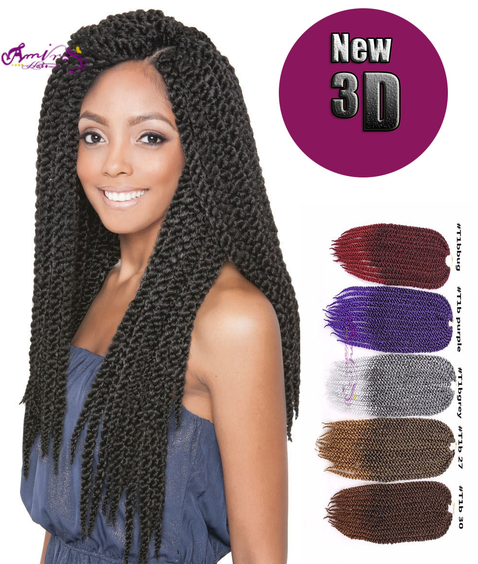 3d Cubic Twist Crochet Braids Braiding Hair Havana Mambo