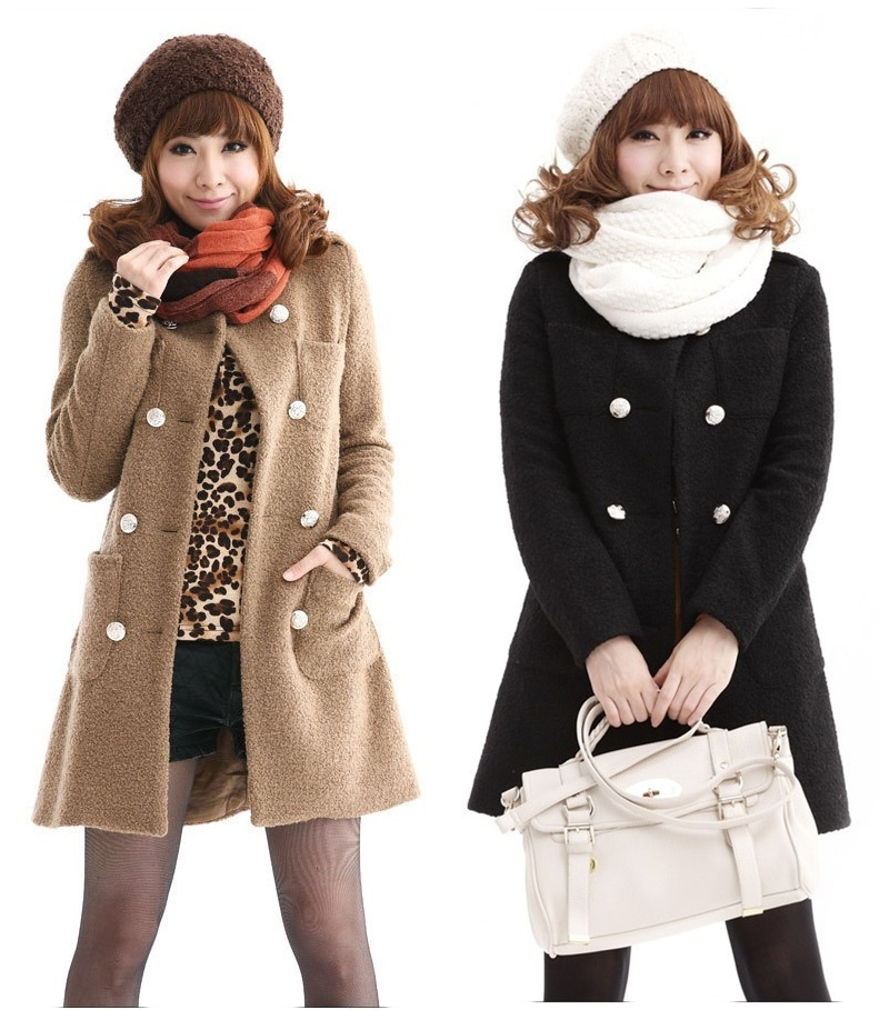 Compare Prices On Long Pea Coats Women Online Shopping Buy Low Price Long Pea Coats Women At
