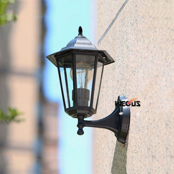 Europe outdoor waterproof landscape wall sconce garden villa fence street step wall light corridor garden fence outside lamps