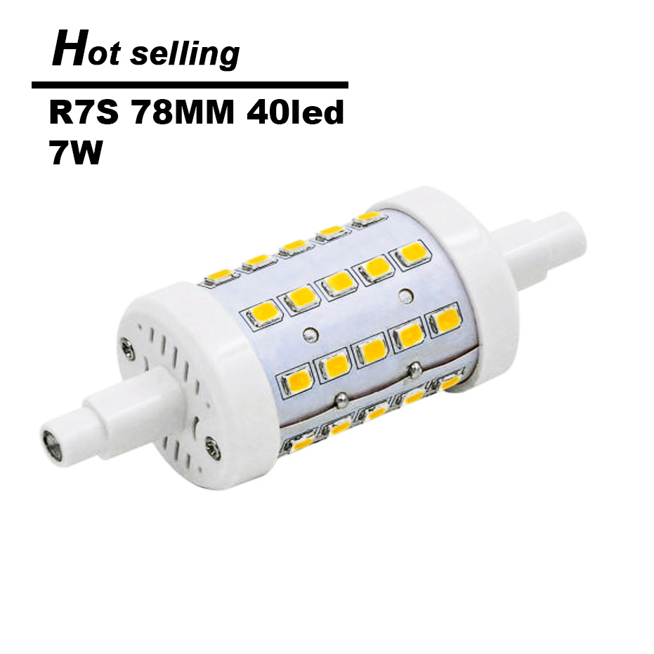 dimmable r7s led lamp 7w 12w 15w 78mm 118mm 135mm lampada led r7s light bulb smd2835 85 265v. Black Bedroom Furniture Sets. Home Design Ideas