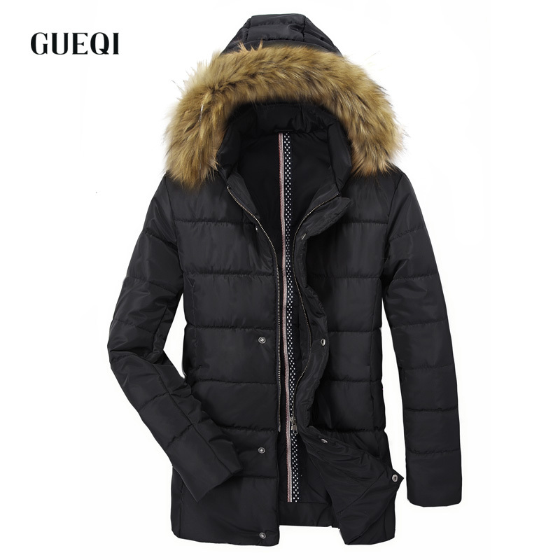 Подробнее о GUEQI 2017 Men New Winter Jacket Brand Clothing Warm Casual Solid Men's Popular Hooded Parkas For Male Jackets Outwear Coats 059 winter jacket men coats thick warm casual fur collar winter windproof hooded outwear men outwear parkas brand new