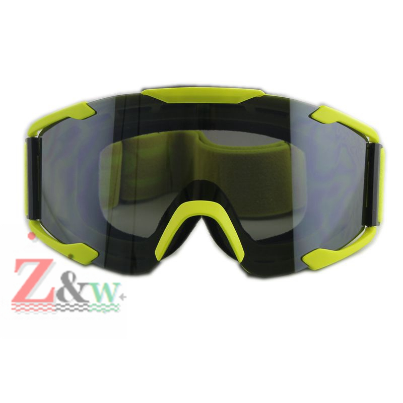 Yellow Frame Motocross Motorcycle Dirt Bike Cycling Bicycle Racing Dust proof Goggles font b Skiing b