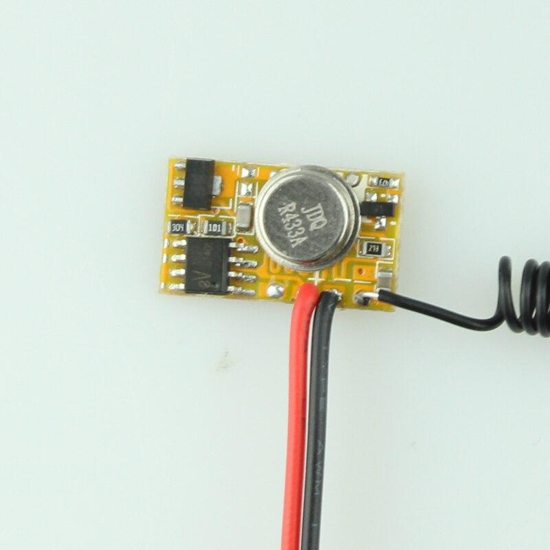 EV1527 Transmitter Module RF Remote Controller PCB DC3V 12V 3 7V 4 5V 5V 6V 7