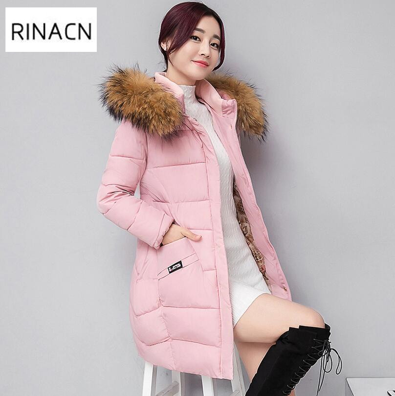 Women Winter Coat Jacket Warm Woman Parkas Female Overcoat High Quality Quilting Cotton Coat 2017 New Winter Collection w448 kuyomens women winter coat jacket 2017 autumn new woman clothes warm hooded coats parkas female overcoat soft cotton jacket