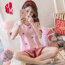 Womens Silk Satin Pajamas Pyjamas Set Short Sleeve Sleepwear Pijama Suit Female Sleep Two Piece Loungewear Plus Size