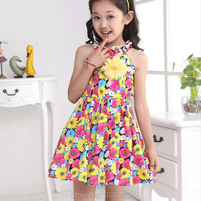 Collection Girls Summer Dresses Pictures - Reikian