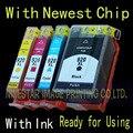 4PK 920 920XL Чернил Совместимый для HP 920 920XL 6500a 6000 6500 7000 7500A Чернил Принтера E190