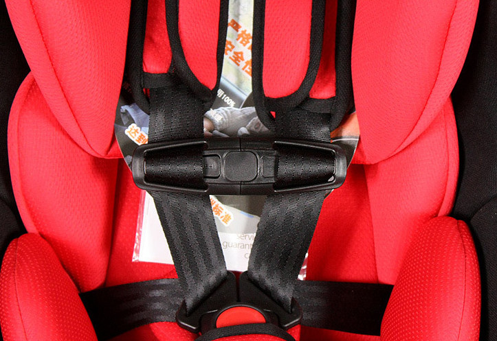 1pc Child Clip Safe Buckle Durable Black Car Baby Safety Seat Strap Belt Harness Chest
