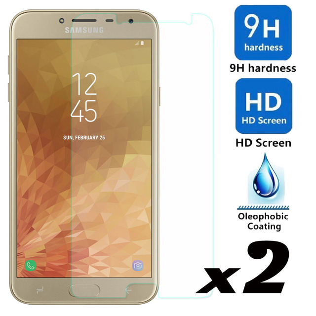 elegaming 2psc/lot Tempered Glass Screen Protector Explosion-proof For Samsung Galaxy