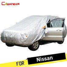 Cancelar cubierta de coche SUV Anti UV lluvia nieve resistente a prueba de polvo cubierta para Nissan x-trail Tiida Cima qashqai Pathfinder soleado