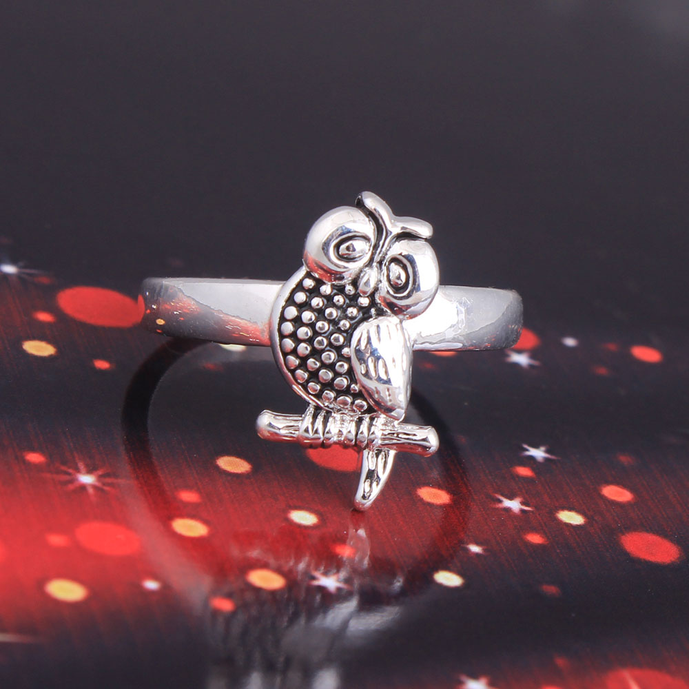 promotion owl wedding rings promotion owl wedding ring Sales Promotion Eternity Woman Fashion jewellery Trending Styles Emerald stone Cubic Zirconia PlatinumPlated Wedding rings