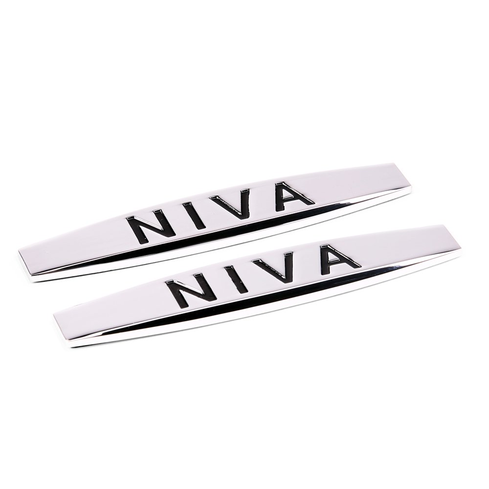 Car Fender side Emblem Badge Decal rear trunk Sticker for NIVA logo Chevrolet cruze captiva lacetti aveo Malibu Sail Spark LADA 3d ss car front grille emblem badge stickers accessories styling for jaguar honda chevrolet camaro cruze malibu sail captiva kia