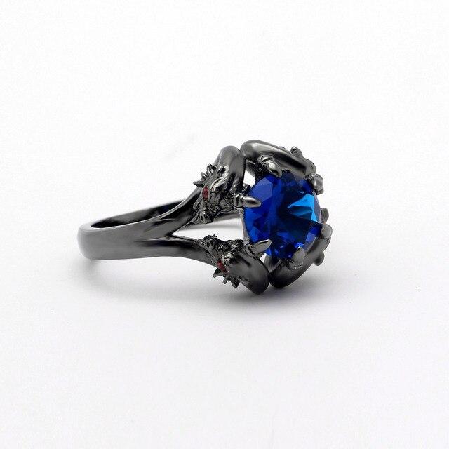 Купить кольца hainon с черным пистолетом крутые мужские кольца драконом картинки