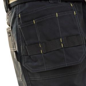 Image 4 - Мужские брюки карго высокой прочности, с несколькими карманами, парусиновые брюки, повседневная одежда для работы, военные тактические длинные брюки полной длины, ID627