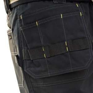 Image 4 - บุรุษขนส่งสินค้าหนักกางเกงกระเป๋าหลายผ้าใบกางเกงทำงานสบายๆสวมทหารยุทธวิธียาวเต็มความยาวกางเกงID627