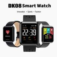 Kospet DK08 1.28 Inch Smart Armband IP67 Professionele Waterdichte Horloge Mannen Smart Polsband Bloeddruk Hartslag Monitoring
