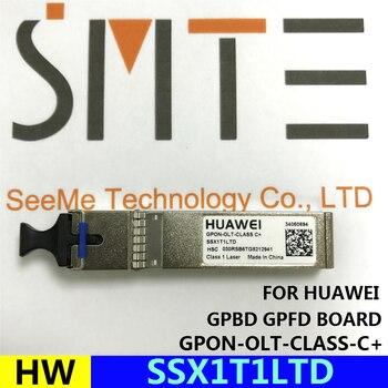 Gpon original olt classe c + ssx1t1ltd sfp GPON-OLT-CLASS c + para huawei ma5608t ma5680t gpbd gpfd placa